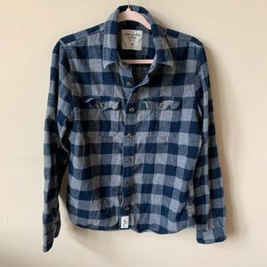 Abercrombie & Fitch men's buffalo check shirt 4276